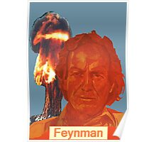 Richard Feynman Poster