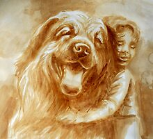 with a friend by Dobrochinskaya