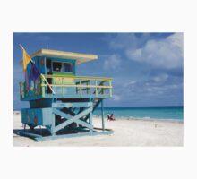 Lifeguard Station Miami South Beach One Piece - Short Sleeve