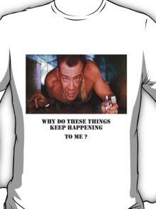 Die Hard - Bruce Willis T-Shirt