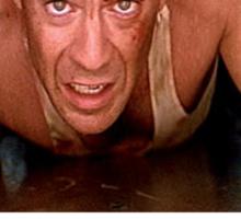 Die Hard - Bruce Willis Sticker