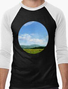 Highlands Scotland Men's Baseball ¾ T-Shirt