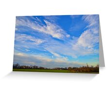 Whispering Winds Greeting Card