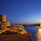 The old harbor of Ierapetra by Hercules Milas