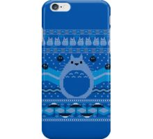 Totoro Knitted Neighbor iPhone Case/Skin