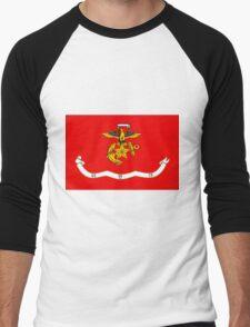 Flag of the Republic of Korea Marine Corps Men's Baseball ¾ T-Shirt