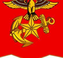 Flag of the Republic of Korea Marine Corps Sticker