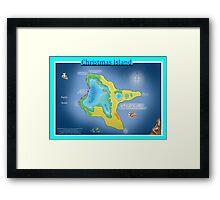 Christmas Island (Kiritimati) Framed Print