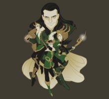 Gods of Mischief by capnflynn