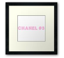 Chanel #3 Framed Print