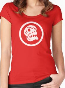 Boingo Skull Women's Fitted Scoop T-Shirt