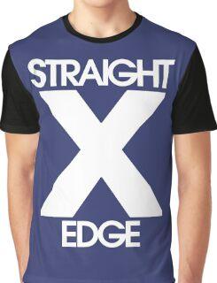 Straightedge (white) Graphic T-Shirt