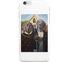 American Dogs iPhone Case/Skin