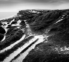 coastal path (landscape format) by Dorit Fuhg