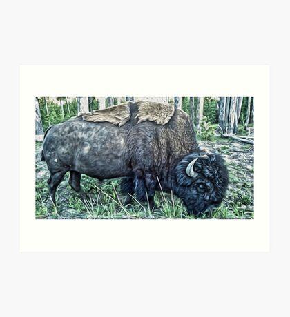 Yellowstone, Yellowstone National Park Art Print