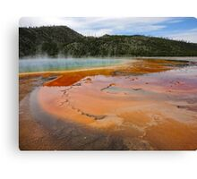 Yellowstone, Midway Geyser Basin Canvas Print