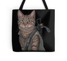 Norman Reedus Cat  Tote Bag