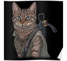 Norman Reedus Cat  Poster