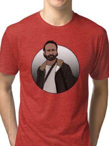 Rick Grimes - The Walking Dead Tri-blend T-Shirt