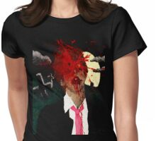 Zombie Kill Shot Womens Fitted T-Shirt
