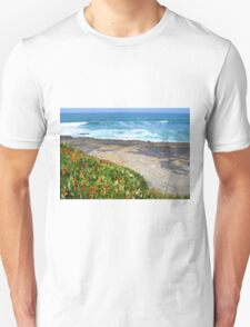 Sunset Cliffs Waves Unisex T-Shirt