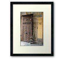 The Hunter And The Judas Gate Framed Print