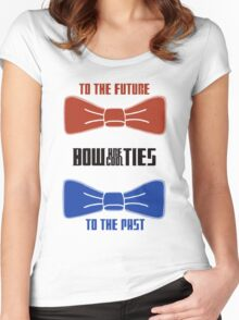 Doctor Who : Bow Ties Are Cool Women's Fitted Scoop T-Shirt