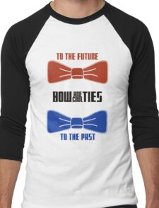 Doctor Who : Bow Ties Are Cool Men's Baseball ¾ T-Shirt