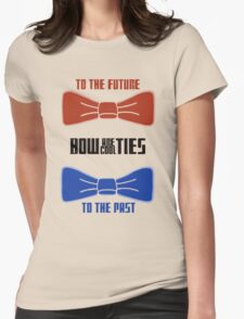 Doctor Who : Bow Ties Are Cool Womens Fitted T-Shirt