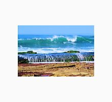 Waves off the Rocks at Sunset Cliffs Unisex T-Shirt