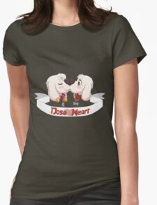 Nose Heart! <3 Womens Fitted T-Shirt