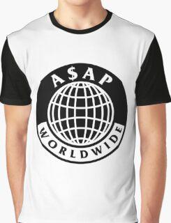 A$AP World-Wide Graphic T-Shirt