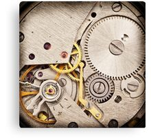 Clockwork 3 Canvas Print