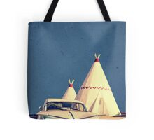 Eat and Sleep in a Wigwam Tote Bag