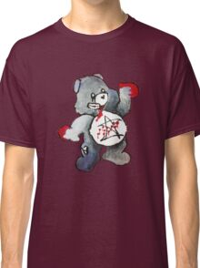 Zombie Bear has a one track mind Classic T-Shirt