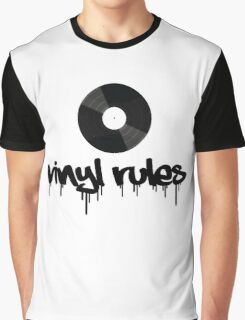 Vinyl Rules 2 Graphic T-Shirt