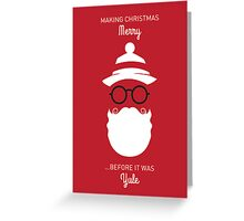 Santa - Before it was Yule Greeting Card