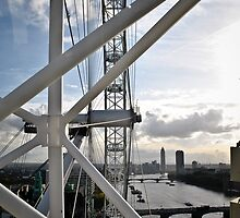 London Eye view 2 by Gustavo Bernal