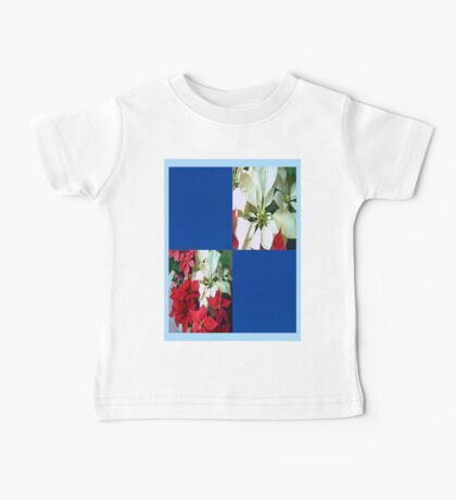 Mixed color Poinsettias 1 Blank Q1F0 Baby Tee