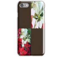 Mixed color Poinsettias 1 Blank Q3F0 iPhone Case/Skin