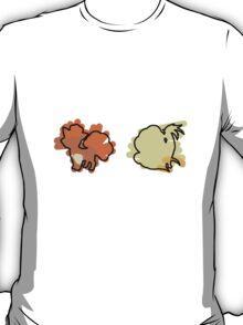 Vulpix, Ninetails T-Shirt