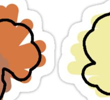 Vulpix, Ninetails Sticker