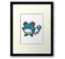 Pokemon - Marrill Framed Print