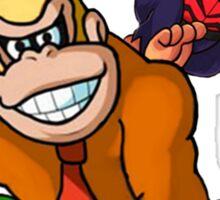 Aqua Kong and Diddy Lad Sticker