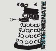 Dalek exterminate Doctor Who by colioni