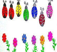 Lovely Ladybugs by sparkleddesigns
