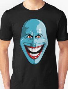 Smiley Blue Face T-Shirt