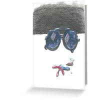 Shades of Color Greeting Card