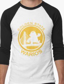 GOLDEN STATE WARIOS Men's Baseball ¾ T-Shirt