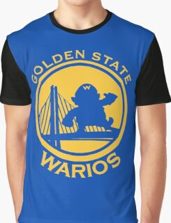 GOLDEN STATE WARIOS Graphic T-Shirt